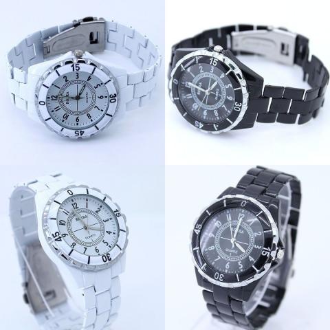 Predám analógové dámske a pánske hodinky zn. Rosra v kombinácii bielej a  čiernej farby. Priemer ciferníka 4 ee463d56a17