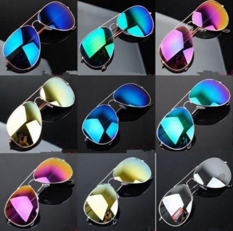 Predám nové slnečné okuliare - pilotky - so zrkadlovými sklami rôznych  odtieňov s kvalitným UV400 filtrom 240ff9810fc